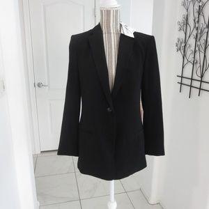 New Alexander Wang Black Blazer Jacket